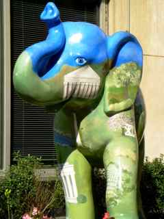 Political Environmental Elephant Statue